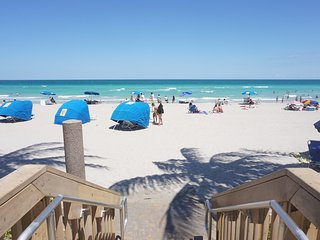 Three Awesome Oceanfront Studios for up to 12 guests in Hollywood Fl.