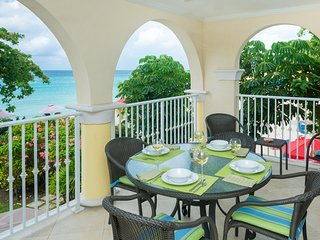 Two Levels of Sea Views & A Tropical Setting on Dover Beach