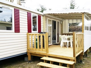 Mobil-home for 6 in St-Jean-de-Mont