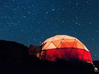 Domo Geodesico cerca del Parque Nacional La Campana