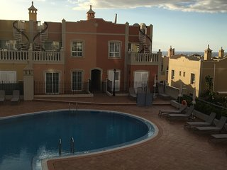TRIPLEX LUXIOURY APARTMENT in PALM-MAR with private solarium and fantastic view, Palm-Mar