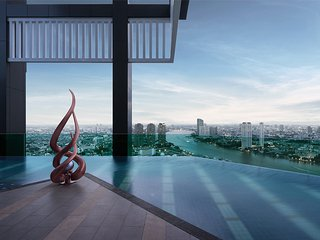 Rhythm Sathorn Luxury Condominium One Bedroom Great Facilities & Great Location