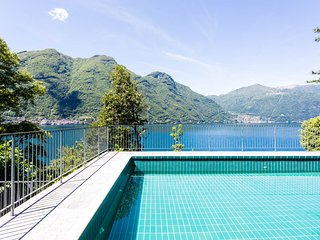 Lakefront Apartment and Pool, Nesso