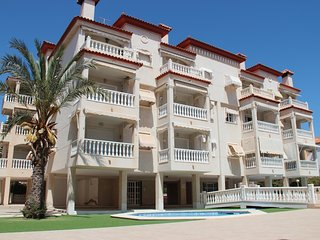 Sunny apartment close to beach and airport on mediterranean sea, Santa Pola