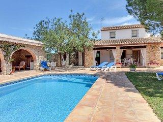 Villa c/piscina y patio,admite mascotas!Ref.161094