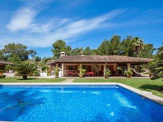 Villa Bon Pas, Villa con Piscina y Acceso a la Playa
