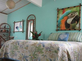 'JOSE' at Toucan Stay Inn (A/C, WiFi, Kitchen, Queen Bed, Private Bath)