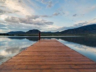 Tuscan Style Lakefront Villa