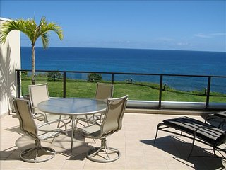 Puu Poa 203  Spectacular Oceanfront beauty, watch Whales from your private lanai, Princeville