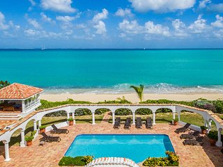 SERENA... Irma Survivor! 5BR Luxury Beachfront Villa