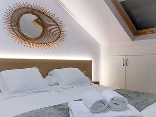 Detalle de una de las habitaciones del Apartamento ático.