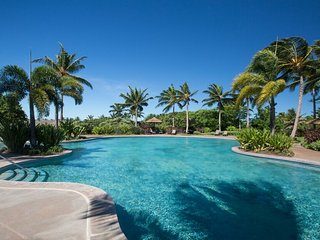 Gorgeous Mauna Kea view, Cottage, Large pool, Stylish comfort, Mauna Lani KaMilo