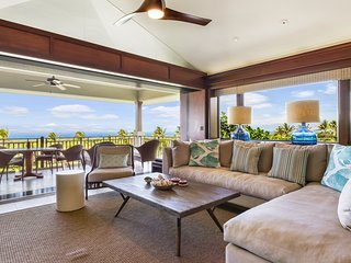 Luxury Condo w/Ocean Views at the Four Seasons Hualalai. Hainoa Villa (2905D)