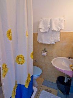 A1(9): bathroom with toilet