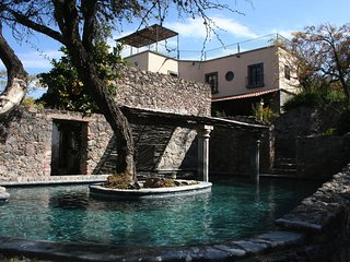 Casa Laguna -  romantic stone hacienda in a green, lush setting-  steps to town, San Miguel de Allende