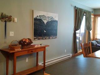 Hall table & art work