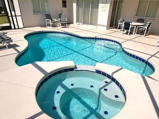 Great Davenport vacation rental home with pool and spa in quiet community of Paradise Woods close to Disney World in Orlando, Florida ~ RA91590