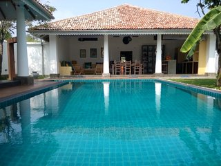 Our 30 foot long pool, great for fun days spent in the villa.