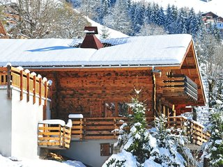 Traditional Spacious & homely mountain style chalet close to centre of Chatel