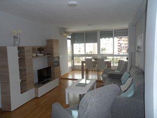 Se alquila apartamento en 1ª linea de playa ., San Juan de Alicante