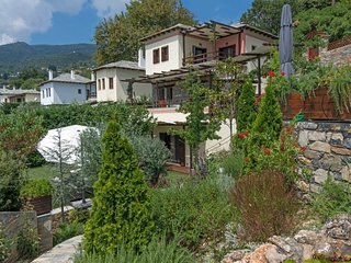 Pelion Private Residence at Milies village, with private pool