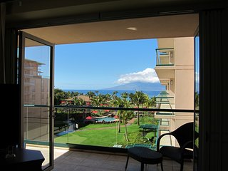Majestic Ocean Front Condo with extra large lanai