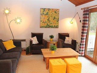 Chalet a La-Roche-en-Ardenne : tres lumineux et confortable !