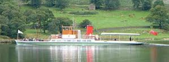 Historic Steamer on Ullswater
