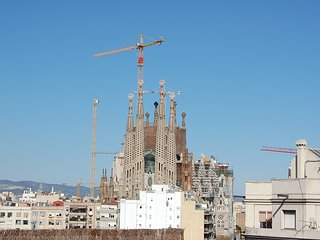 Wonderful open plan apartment with the best view in Barcelona