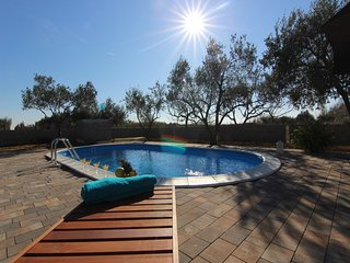 Holiday house  Ana with 3 bedrooms for 8 person and private swimming pool