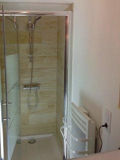 Douche à l'étage du haut
