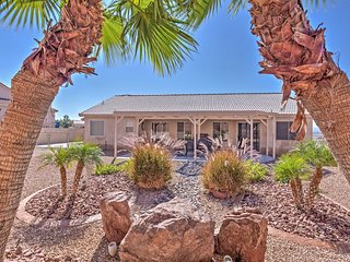 Bullhead City Home w/ Yard, Mountain Views & More!