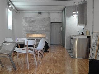 Stylish loft studio in Pigneto area