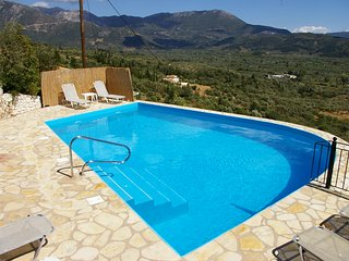 3 BED,3 BATH DETACHED VILLA WITH PRIVATE POOL & SPECTACULAR SEA VIEWS, Vasilikí
