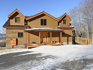 Timberview is a slope-side log home with stunning mountain views!