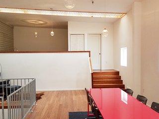 Beautiful, light-filled loft apartment in the Marigny Neighborhood