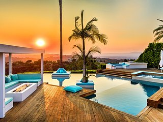 Crest Estate with Amazing Views, Top of Beverly Hills, Infinity Pool / Lounge
