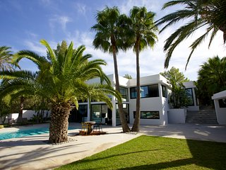 Magnificent Architect's Villa in a Palm Grove, Sant Antoni de Portmany