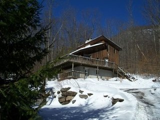 mountain chalet, Hunter