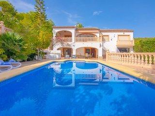 Villa Sonrisas en Benissa,Alicante para 6 huespedes