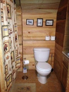 Cherokee Basement Full Bathroom