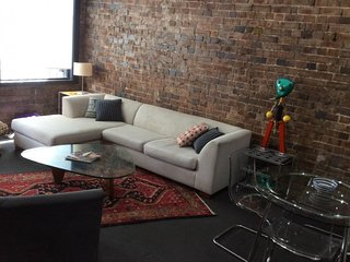 NYL is a funky 1.5 Bedroom New York loft style converted loft.