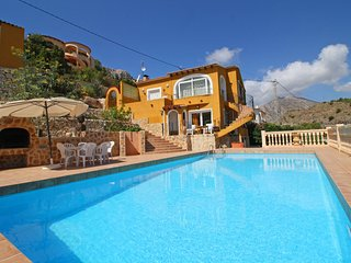 4 bedroom Villa in Calpe, Valencia, Spain : ref 5487661