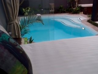 Bed 1:  Pool View