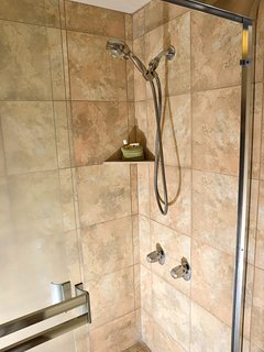 New tile shower