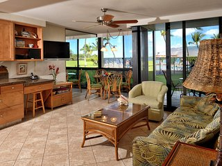 Kihei Surfside 106 - Oceanfront Condo w/Pool, BBQs, Full Kitchen, Wifi