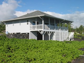 Hale Ehu Kai is as oceanfront as you can get!