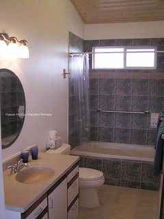 Bathroom #1 with shower over tub