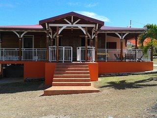 Bright house in Anse Bertrand, Anse-Bertrand