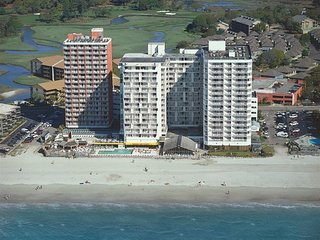 Views of 3 Miles of Beach and longest Pier on the Coast. Just Renovated. 823, Arcadian Shores